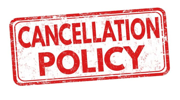 Villa Group Timeshare cancellation policy info